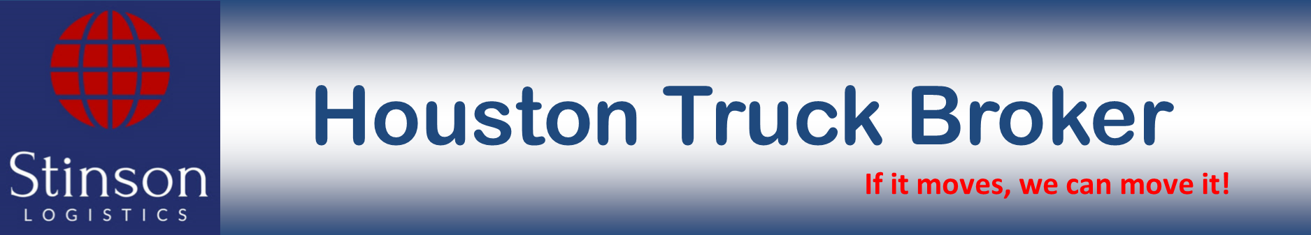Houston Truck Broker - Stinson Logistics, LLC - Domestic Trucking - Freight Broker - Shipping company - Freight Company